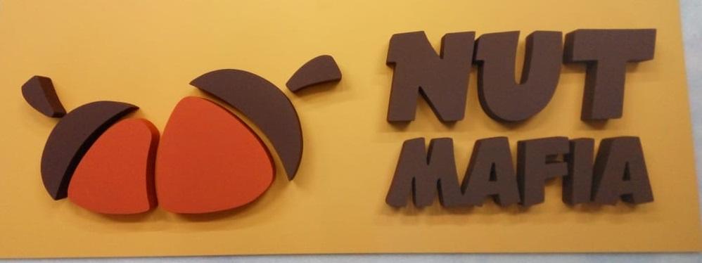 объемный логотип на стену в офис